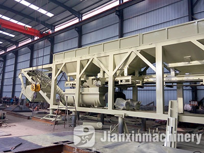 ZWB Stabilized Soil Batching Plant