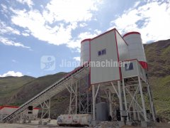 HZS 150 concrete batching plant